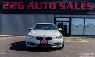 Used 2018 BMW 3 Series 330i xDrive|ACCIDENT FREE|AWD|NAV|LEATHER|BACKUP C for sale in Brampton, ON