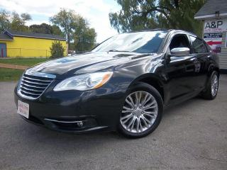 Used 2013 Chrysler 200 Limited for sale in Oshawa, ON