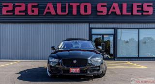 Used 2017 Jaguar XE Prestige ACCIDENT FREE NAV LEATHER BACKUP CAM for sale in Brampton, ON