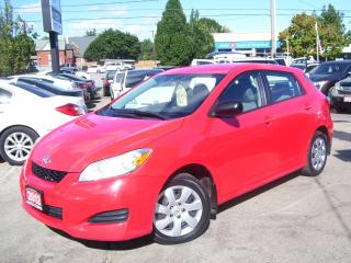 Used 2012 Toyota Matrix AUTO,A/C,POWER GROUP,CERTIFIED,REMOTE STARTER for sale in Kitchener, ON