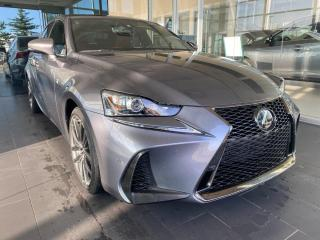 Used 2018 Lexus IS IS 300 AWD, ACCIDENT FREE, ONE OWNER, SUNROOF, POWER HEATED/VENTED LEATHER SEATS, NAVI for sale in Edmonton, AB