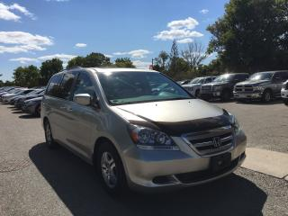 Used 2007 Honda Odyssey EX-L. LEATHER-SUNROOF -VERY CLEAN CONDITION. NEW TIMING BELT/ WATERPUMP for sale in London, ON