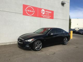 Used 2015 Infiniti Q50 4dr AWD Sedan for sale in Edmonton, AB