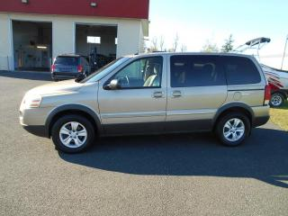 Used 2005 Pontiac Montana Empattement ordinaire 4 portes avec 1SA for sale in Lévis, QC