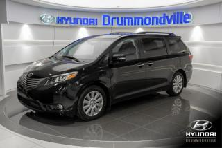 Used 2017 Toyota Sienna LIMITED + GARANTIE + NAVI + TOIT PANO + for sale in Drummondville, QC