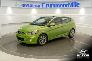 Used 2013 Hyundai Accent GLS + GARANTIE + TOIT + MAGS + A/C + WOW for sale in Drummondville, QC