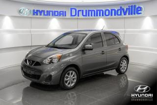Used 2018 Nissan Micra SV + GARANTIE + MAGS + CAMERA + A/C + C for sale in Drummondville, QC