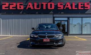Used 2019 BMW 3 Series 330i xDrive|ACCIDENT FREE|AWD|BACKUP CAM|NAV|LEATH for sale in Brampton, ON