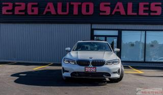 Used 2020 BMW 3 Series 330i xDrive|AWD|ACCIDENT FREE|BACKUP CAM|NAV|LEATH for sale in Brampton, ON