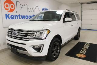 Used 2019 Ford Expedition Limited MAX | 4x4 | Remote Start | Heated Cooled Leather | NAV for sale in Edmonton, AB