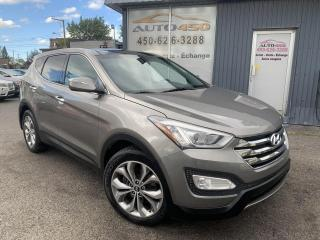 Used 2013 Hyundai Santa Fe ***SPORT,AWD,CUIR,TOIT PANO,MAGS,A/C*** for sale in Longueuil, QC