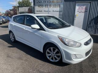 Used 2013 Hyundai Accent ***GLS,BAS KILO,A/C,MAGS,TOIT,BLUETOOTH* for sale in Longueuil, QC