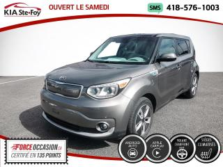 Used 2017 Kia Soul EV * EV LUXE* TOIT OUVRANT* CUIR* SIEGES CH for sale in Québec, QC