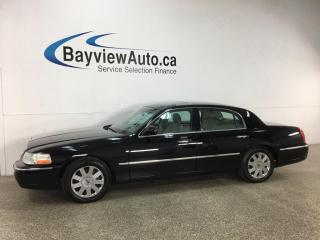 Used 2003 Lincoln Town Car Cartier - V8! HTD LEATHER SEATS! SUNROOF! CHROMES! for sale in Belleville, ON