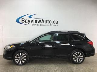 Used 2017 Subaru Outback 2.5i Limited - AWD! NAV! HTD LEATHER! SUNROOF! + MUCH MORE! for sale in Belleville, ON