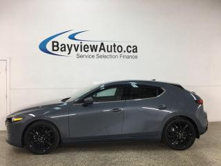 Used 2019 Mazda MAZDA3 GT - AWD! HATCH! RED LEATHER! NAV! SUNROOF! LOADED! for sale in Belleville, ON