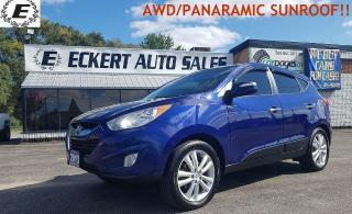 Used 2013 Hyundai Tucson Limited/PANARAMIC SUNROOF!! for sale in Barrie, ON