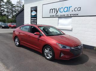 Used 2020 Hyundai Elantra Preferred w/Sun & Safety Package SUNROOF, HEATED SEATS/WHEEL, ALLOYS, BACKUP CAM!! for sale in Kingston, ON
