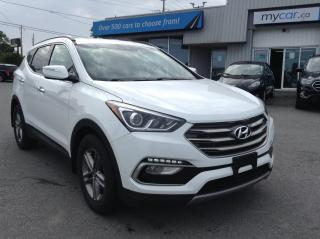 Used 2017 Hyundai Santa Fe Sport 2.4 Premium HEATED PWR SEATS, ALLOYS, BACKUP CAM!! for sale in Kingston, ON