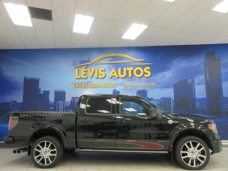 Used 2010 Ford F-150 4X4 HARLEY DAVIDSON CUIR GPS TOIT TRES P for sale in Lévis, QC