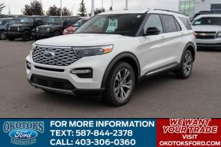 New 2020 Ford Explorer Platinum for sale in Okotoks, AB