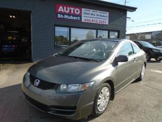 Used 2010 Honda Civic DX ** 86 000 KM ** for sale in St-Hubert, QC