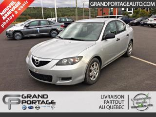 Used 2007 Mazda MAZDA3 Berline 4 portes, boîte automatique, GX for sale in Rivière-Du-Loup, QC