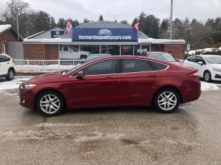 Used 2016 Ford Fusion SE LEATHER, HEATED SEATS & STEERING WHEEL for sale in Flesherton, ON
