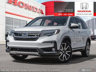 New 2021 Honda Pilot Touring 8P TOURING for sale in Cambridge, ON
