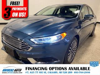 Used 2018 Ford Fusion HEATED LEATHER SEATS, NAVIGATION, AND MUCH MORE.. for sale in Calgary, AB