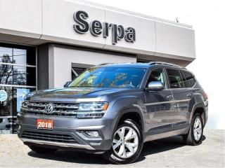 Used 2018 Volkswagen Atlas 2.0 TSI Comfortline |LEATHER|REARCAM|HSEAT|APPLE|18S|LOWK| for sale in Toronto, ON