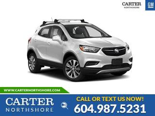 New 2020 Buick Encore GX Essence LEATHER - HEATED PWR SEATS - MEMORY SEAT - WIRELESS CHARGING for sale in North Vancouver, BC
