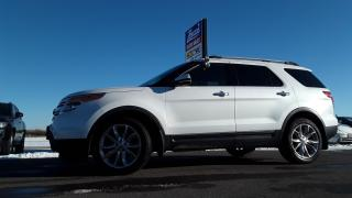 Used 2011 Ford Explorer LIMITED for sale in Brandon, MB
