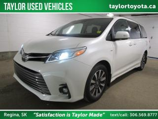 Used 2018 Toyota Sienna Limited 7-Passenger AWD - with Rare LIMITED PACKAGE! for sale in Regina, SK