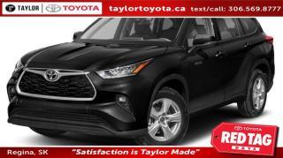 New 2020 Toyota Highlander HYBRID XLE for sale in Regina, SK
