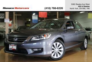 Used 2014 Honda Accord EX-L - LEATHER|BACKUPCAM|SUNROOF|SIDECAM for sale in North York, ON