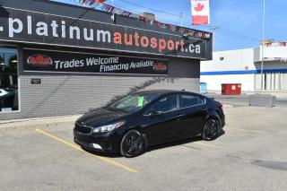 Used 2018 Kia Forte EX HEATED SEATS AND STEERING WHEEL!! SUNROOF!! BACKUP CAMERA!! BLUETOOTH!! NO ACCIDENTS!! for sale in Saskatoon, SK