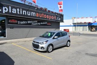 Used 2018 Chevrolet Spark 1LT CVT BACKUP CAMERA!! BLUETOOTH!! FOG LIGHTS!! GREAT FUEL ECONOMY!! for sale in Saskatoon, SK