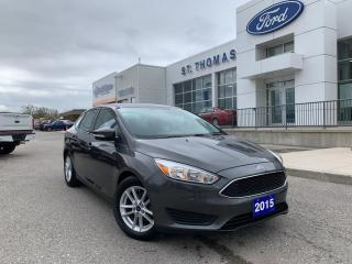 Used 2015 Ford Focus SE AUTO/BLUETOOTH/BACK UP CAMERA for sale in St Thomas, ON