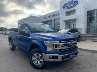 Used 2018 Ford F-150 XLT 4WD Bluetooth/Alloy Wheels for sale in St Thomas, ON