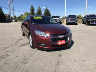 Used 2015 Chevrolet Malibu 1LT for sale in Grimsby, ON