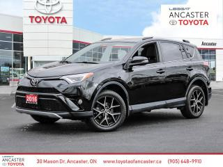 Used 2016 Toyota RAV4 SE AWD for sale in Ancaster, ON