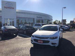 Used 2018 Chevrolet Malibu LT - ONE OWNER - REMOTE STARTER for sale in Stouffville, ON