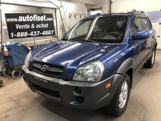 Used 2008 Hyundai Tucson FWD 4dr V6 Auto GL    $39.30/semaine+taxes for sale in St-Raymond, QC