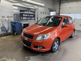 Used 2009 Chevrolet Aveo 5dr Wgn LT  5  vit,  toit, cruise,  $35.50/sem+tax for sale in St-Raymond, QC