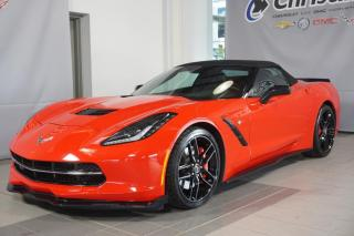 Used 2015 Chevrolet Corvette STINGRAY CONVERTIBLE 3LT Z51 JUPES SPORT for sale in Montréal, QC
