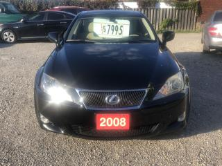 Used 2008 Lexus IS 250 Base for sale in Hamilton, ON