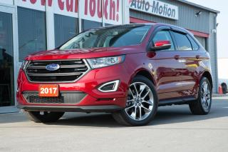 Used 2017 Ford Edge Sport LIKE NEW! PANO ROOF NAVIGATION REMOTE START for sale in Chatham, ON