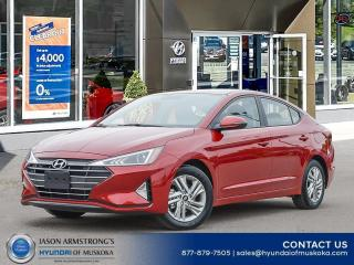 New 2020 Hyundai Elantra Preferred for sale in Huntsville, ON