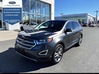 Used 2016 Ford Edge 4DR TITANIUM AWD for sale in Victoriaville, QC